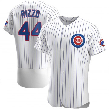Men's Anthony Rizzo Chicago Cubs Authentic White Home Jersey