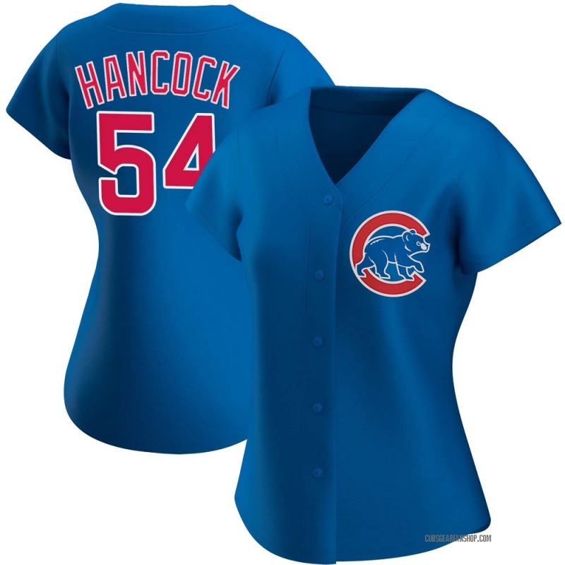 Women's Justin Hancock Chicago Cubs Authentic Royal Alternate Jersey