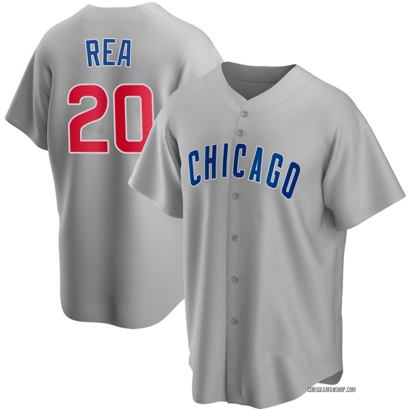 Youth Colin Rea Chicago Cubs Replica Gray Road Jersey