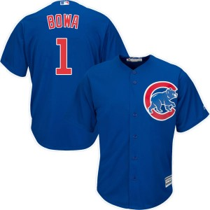 Youth Majestic Larry Bowa Chicago Cubs Replica Royal Cool Base Alternate Jersey