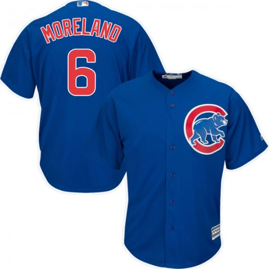 Youth Majestic Keith Moreland Chicago Cubs Authentic Royal Cool Base Alternate Jersey